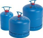 Campingaz refillable bottles come in 3 different sizes