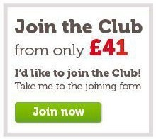 Club membership from £41