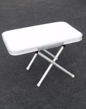 Camp-let's new Stool with top fitted making a side table or play table