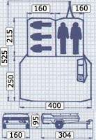 Camp-let Concorde trailer tent specifications