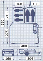 Camplet Concorde trailer tent dimensions