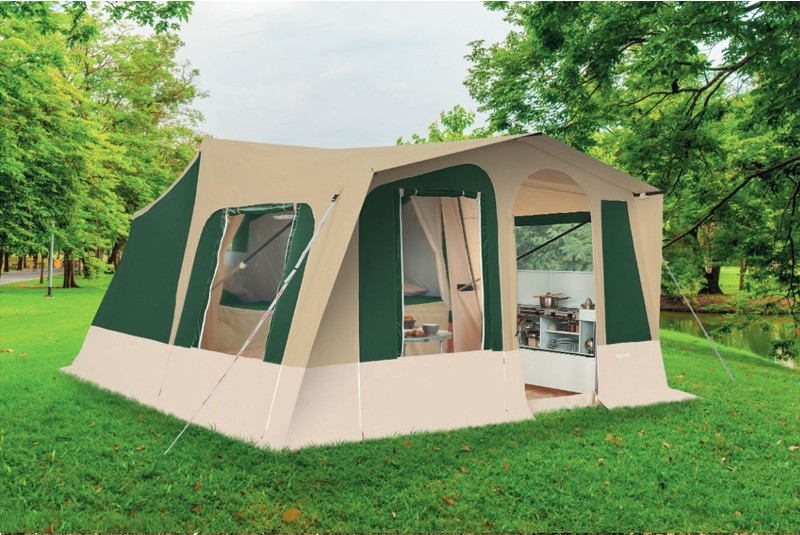 Trigano Odyssee Trailer Tent Available In Green Or Brown