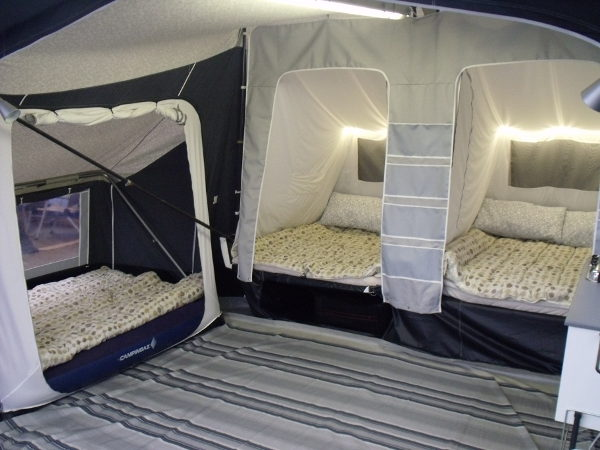 Sleeping for 6 people with 1 annex fitted