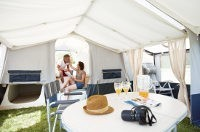 Spacious interior makes Camplair XL a large family Trailer tent