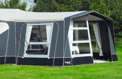 Optional awning available to extend your Camp-let further – Premium only