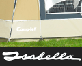 Isabella - The highest quality awnings for Camp-let trailer tents