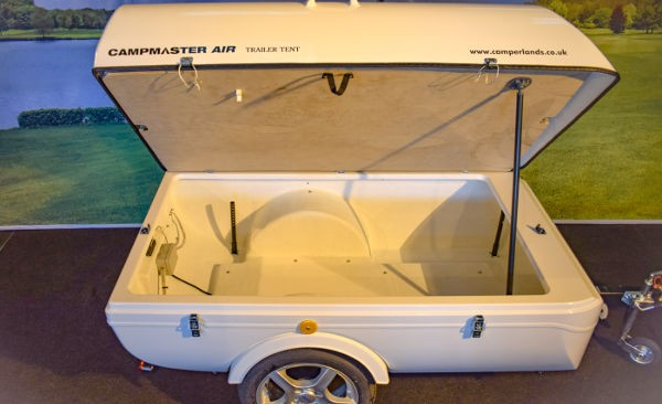Campmaster 600L luggage trailer