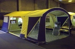 Trigano Galleon UK Trailer Tent on display