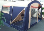 Trigano Swift Trailer Tent on display