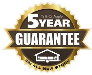 5 year Guarantee on all new Trigano Odyssee Trailer Tents