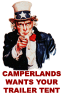Camperlands wants your Used Trailer Tents and folding campers