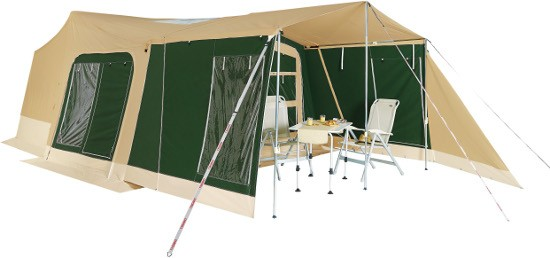 Trigano Odyssee Trailer Tent Available In Green Or Brown From