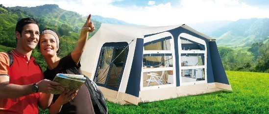 Outdoor adventures in Trigano Trailer Tents